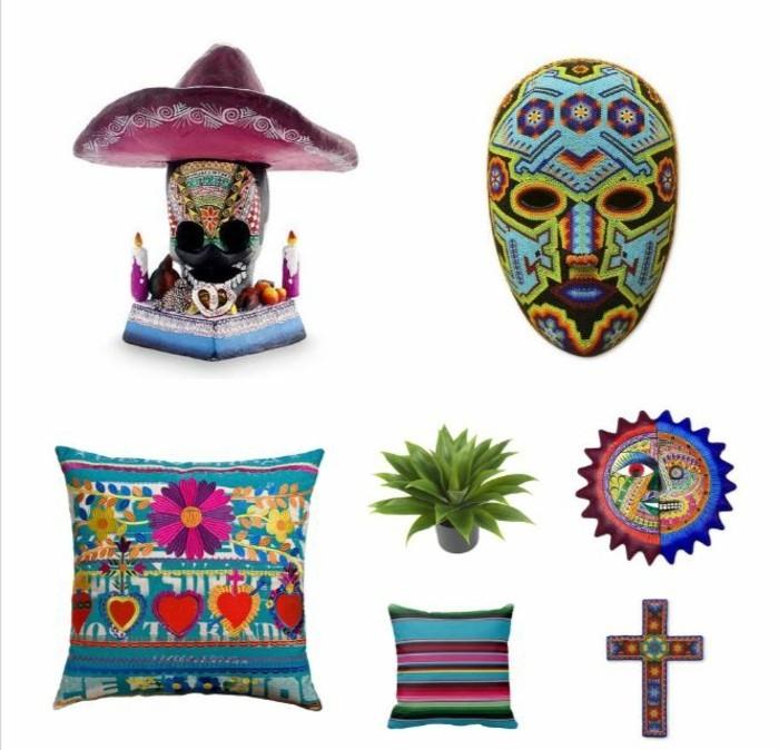einrichtungsbeispiele mexikanischer stil