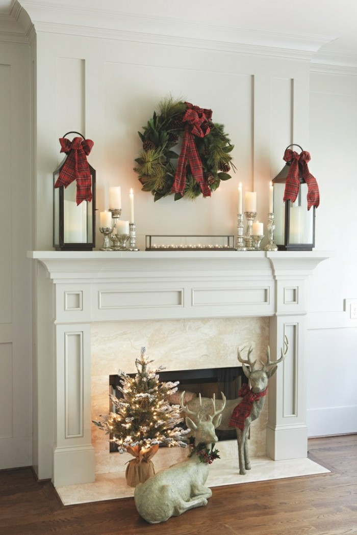 wohnzimmer deko weihnachten. Black Bedroom Furniture Sets. Home Design Ideas