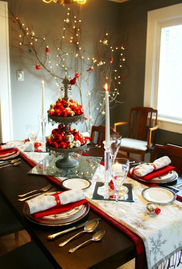 Deko ideen weihnachten  Esszimmer gestalten: Festliche Dekoideen für das kommende Weihnachten