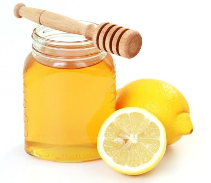 hautpflege tipps gesichtpflege honig zitrone gesichtsmaske