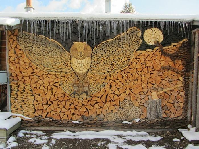 Holzskulpturen Selber Machen 30 Ideen Für Kunst Aus Holzblöcken