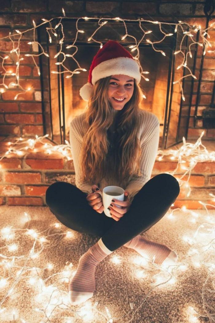 ideen fuer weihnachten fensterdeko zimmer weisenhaus licht