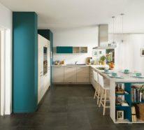 Küchenmaterialien und Farben – Diese Trendfarben können Sie ideal kombinieren