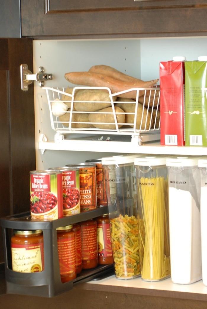 lebe gesund produkte organisieren kuechenschraenke
