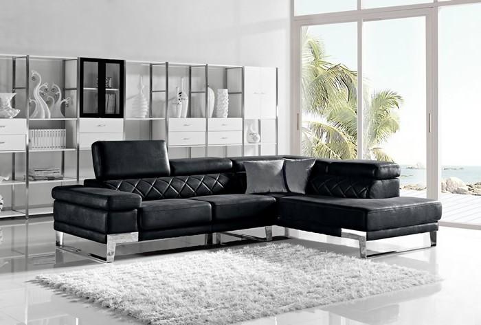 moderne sofas modernes ecksofa weisser teppich weisse waende