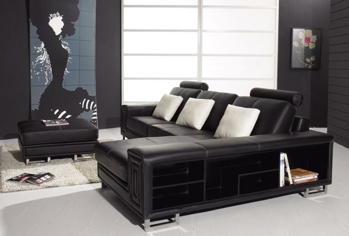 moderne sofas und ihre richtigen ma e. Black Bedroom Furniture Sets. Home Design Ideas