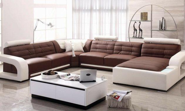 Wohnzimmer Ideen Sofa Braun Wohndesign