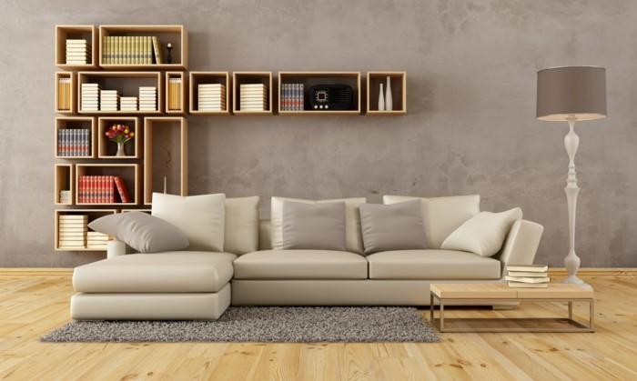 schoene sofas wohnzimmer einrichten grauer teppich