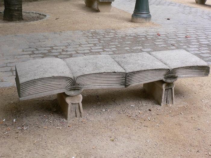sitzbaenke buch design paris