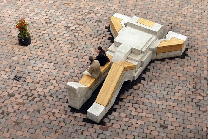 sitzbaenke roboter enschede holland