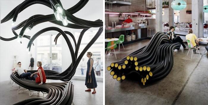 sitzbank modernes design sebastien wierinck
