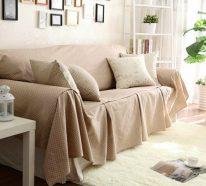 Der Sofa Bezug als Schutz und Dekoration