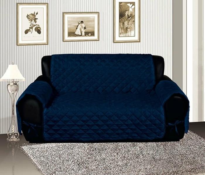 sofabezug tiere schick patchwork rot polster auflagen canvas blau