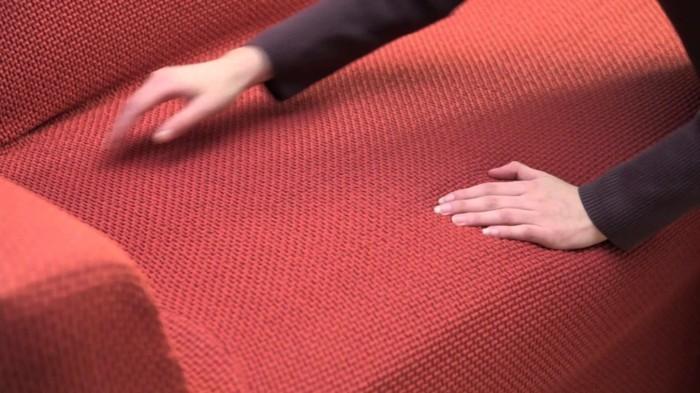sofabezug tiere schick patchwork rot polster auflagen jeans canvas reinigung