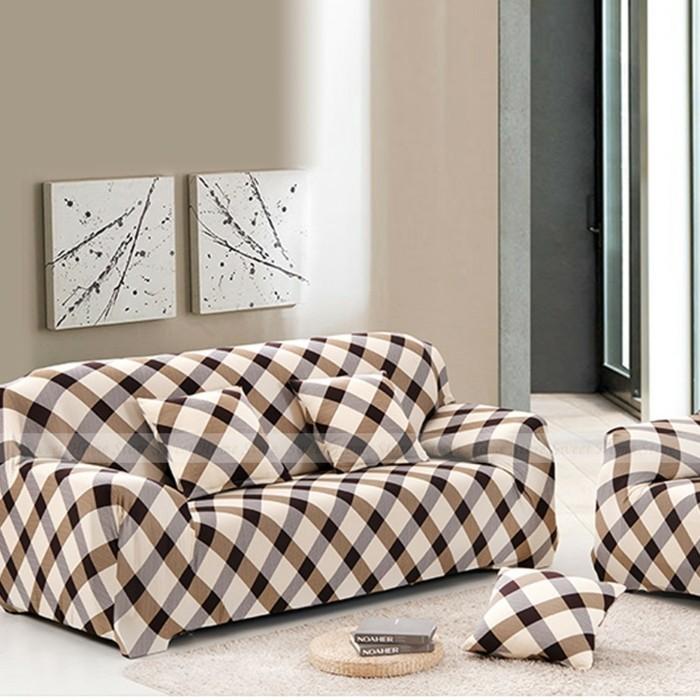 sofabezug tiere schick patchwork rot polster auflagen2