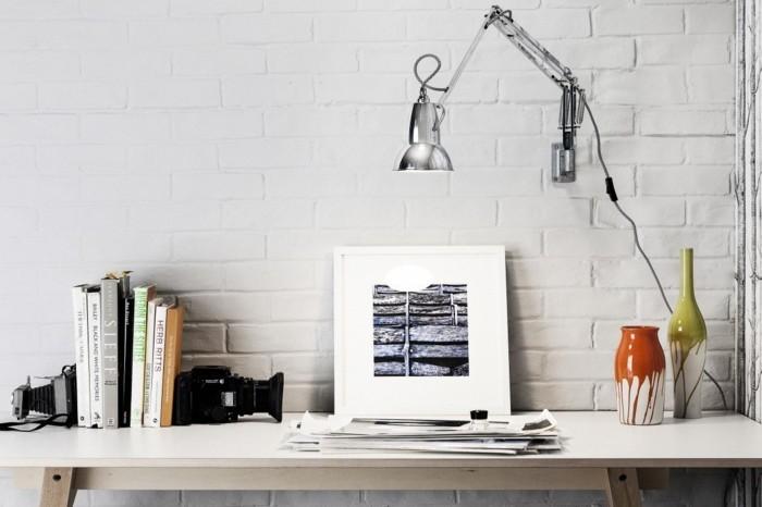 wandleuchten innen textilkabel schwarz weiss wandlampe industrie stil