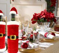 Einfache tischdeko weihnachten basteln  ▷1000 Ideen für Weihnachtsdeko basteln - Weihnachtsdekoration ...