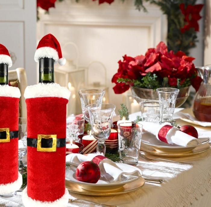 weihnachtsdeko diy ideen tischdekoration weihnachten