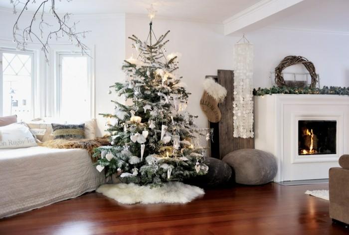 weihnachtsdeko weihnachtsbaum windspiel kamin