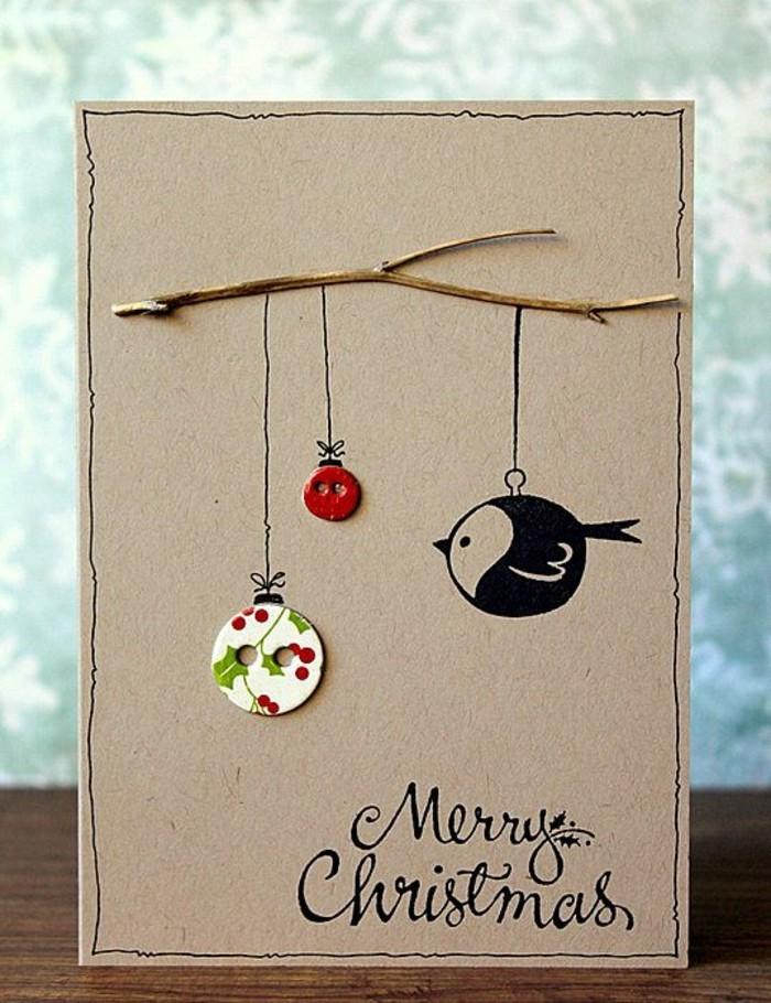 Weihnachtskarten basteln 44 einfache und kreative diy ideen for Ideen weihnachtskarten basteln