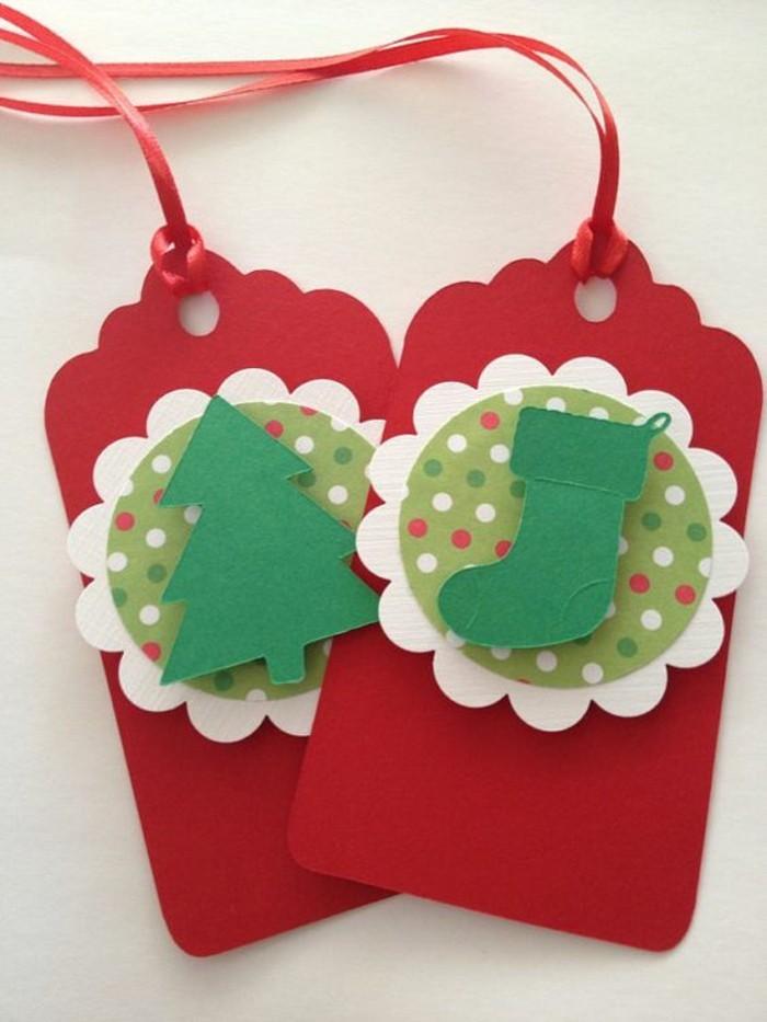 weihnachtskarten basteln papier geschenkideen weihnachtsbaum