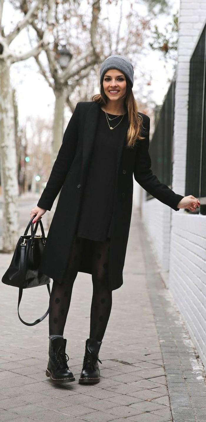 Schwarzes langes kleid kombinieren. ✨ Schwarzes Kleid
