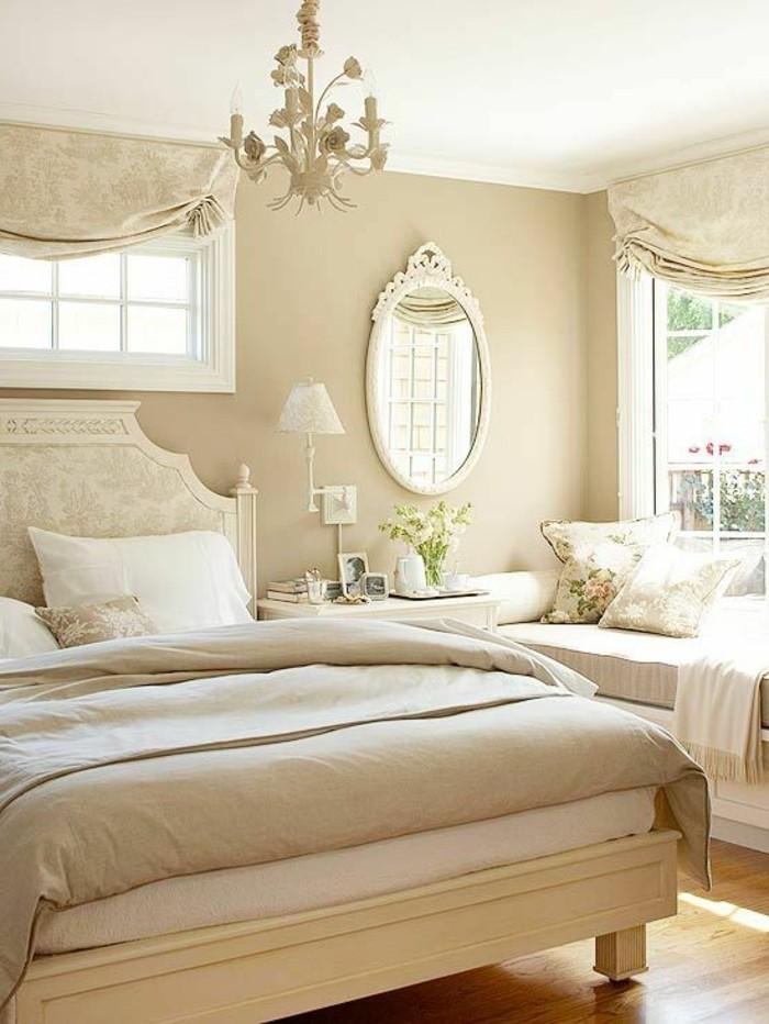 wohnideen schlafzimmer harmonische einrichtung neutrale farben