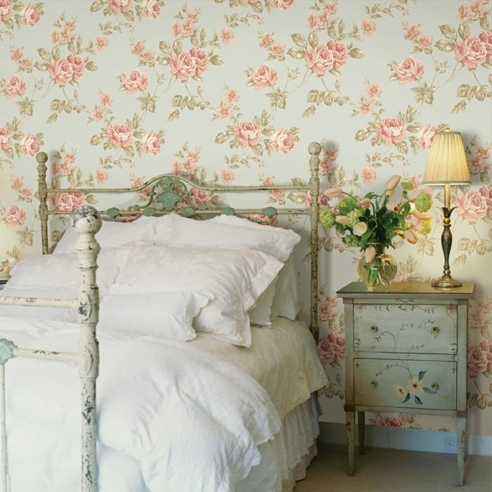Wohnideen schlafzimmer landhausstil  Schlafzimmergestaltung - Schöne Wohnideen für mehr Komfort im ...