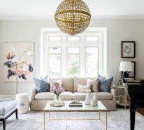 Wohnzimmergestaltung – 34 erfrischende Ideen für den Wohnbereich
