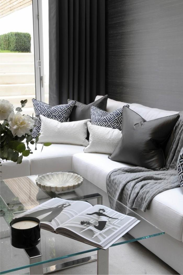 wohnzimmergestaltung 34 erfrischende ideen f r den wohnbereich. Black Bedroom Furniture Sets. Home Design Ideas