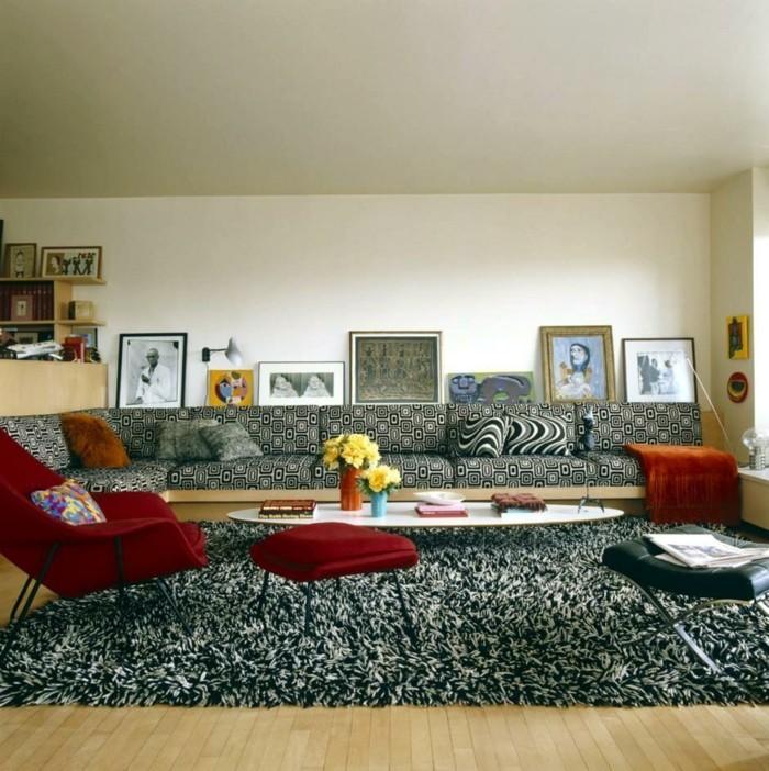Wohnzimmergestaltung erfrischende ideen für den