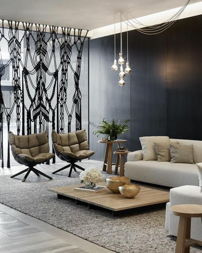 Wohnung Einrichten Wohnideen Wohnzimmer Pendelleuchten Moderne Beleuchtung