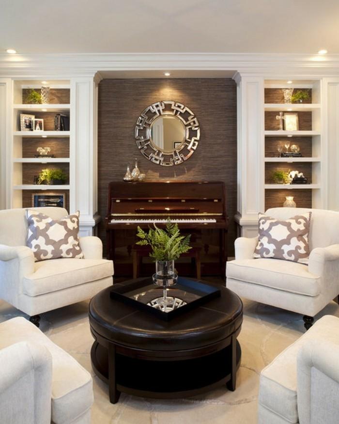 wohnungseinrichtung ideen wohnzimmer einrichten weisse moebel