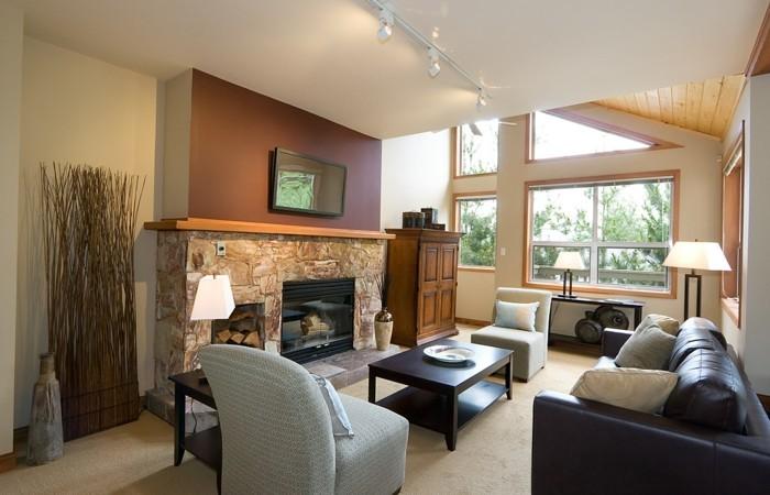 Wohnzimmergestaltung  Wohnzimmergestaltung - 34 erfrischende Ideen für den Wohnbereich