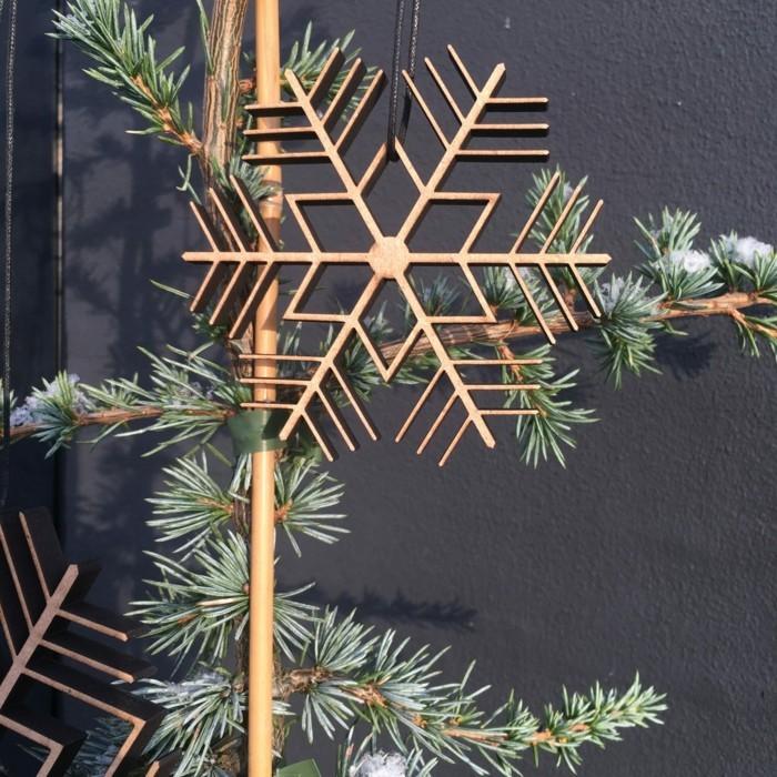 weihnachtliche deko ideen skandinavisch 2