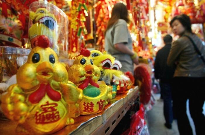 chinesiches neujahr feuer hahn horoskop vorhersagen 2017 sternzeichen astrologie prognosen asiatischer tierkreis