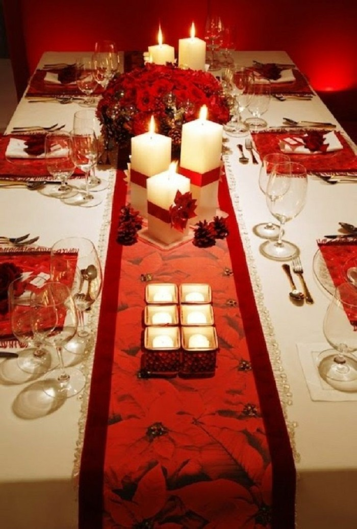 deko ideen weihnachten berghuette farben laterne tischdeko