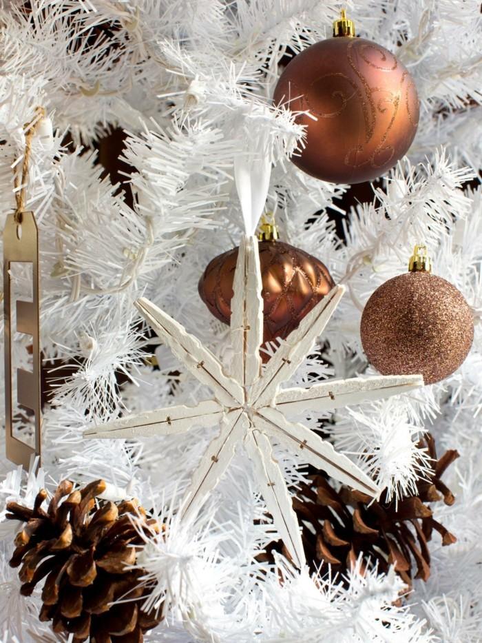 deko ideen weihnachten berghuette farben schmuck