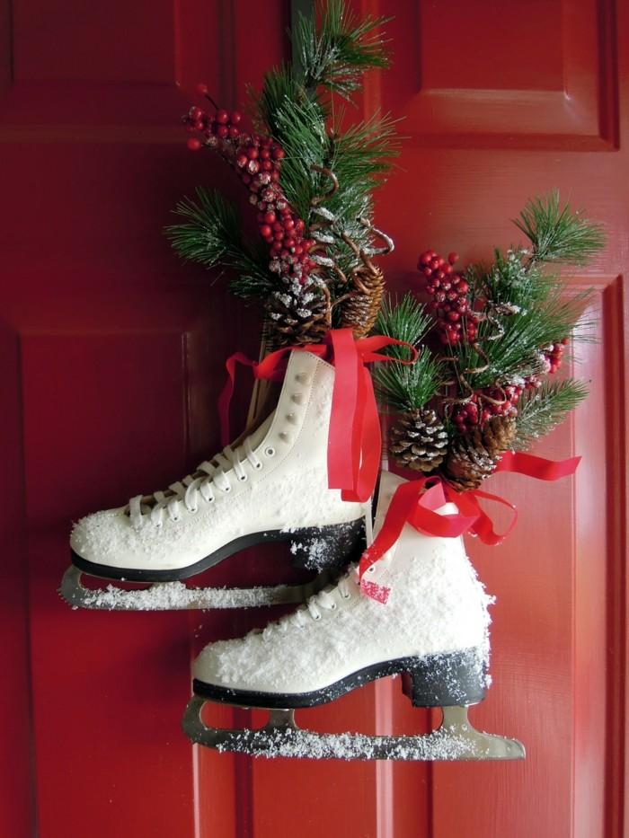 deko ideen weihnachten berghuette farben weihnachtsbaum15