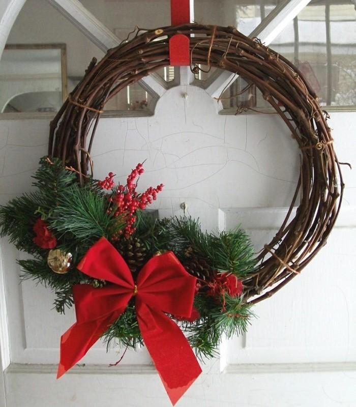 deko ideen weihnachten berghuette farben weihnachtsbaum17