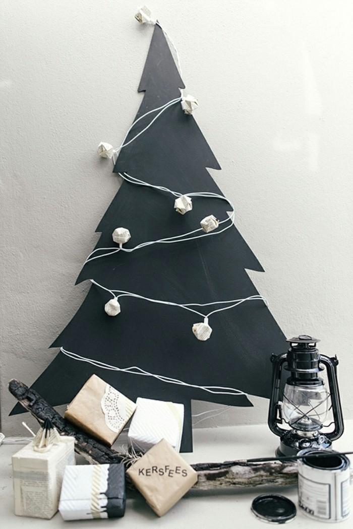 deko ideen weihnachten berghuette farben weihnachtsbaum2