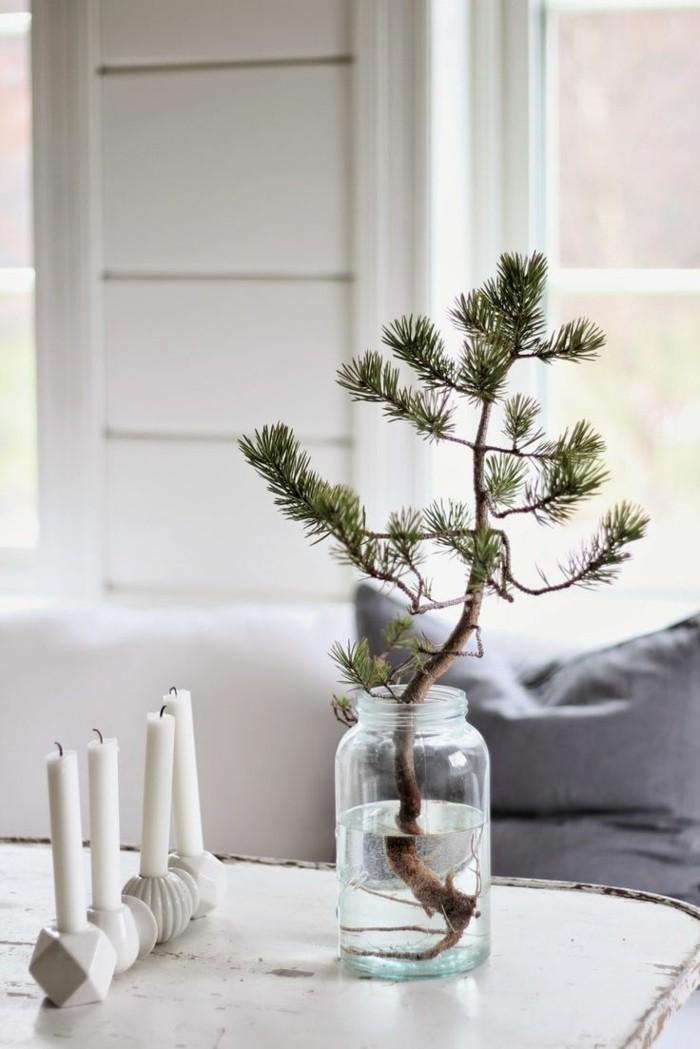 deko ideen weihnachten berghuette farben weihnachtsbaum3