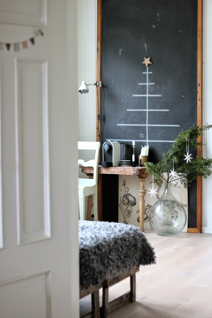 deko ideen weihnachten berghuette farben weihnachtsbaum7