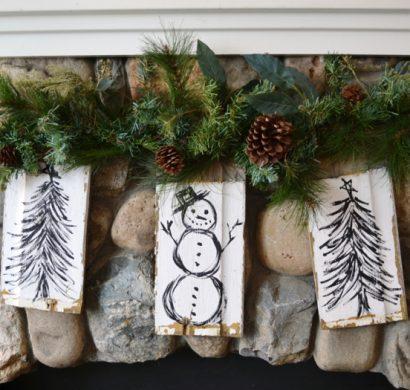 weihnachtliche deko ideen oder wie man stimmung erzeugt. Black Bedroom Furniture Sets. Home Design Ideas