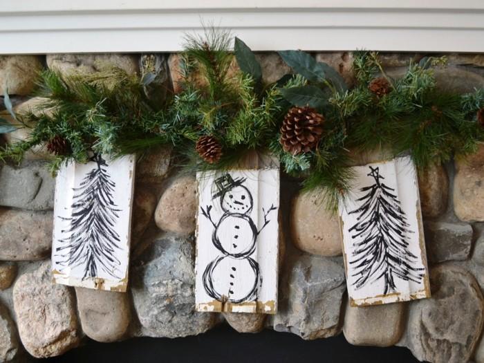 deko ideen weihnachten berghuette farben weihnachtsbaum8