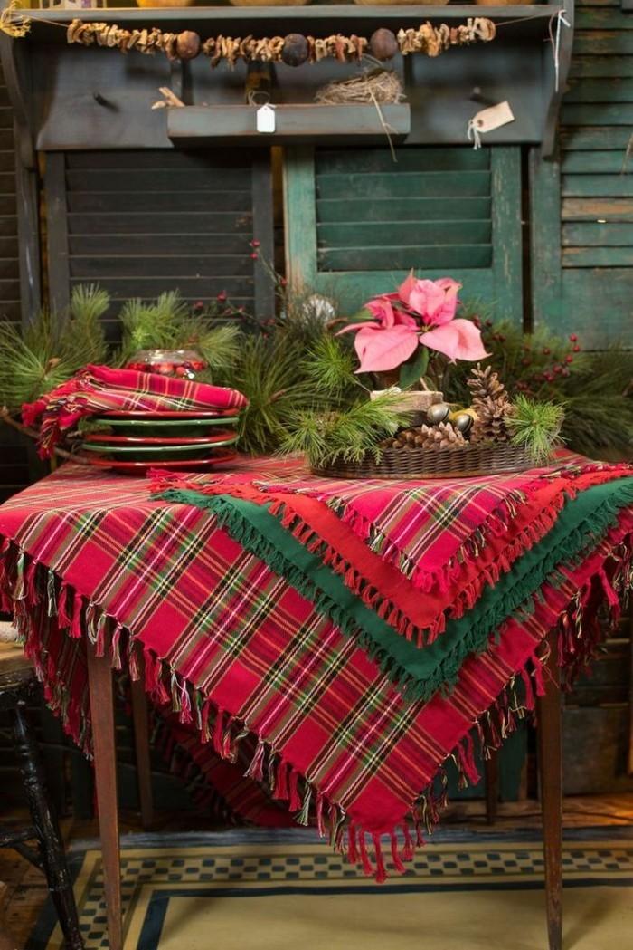 deko ideen weihnachten berghuette farben