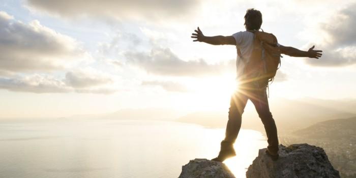 dopamin serotonin endorphin wandern sonnenaufgang glückshormone