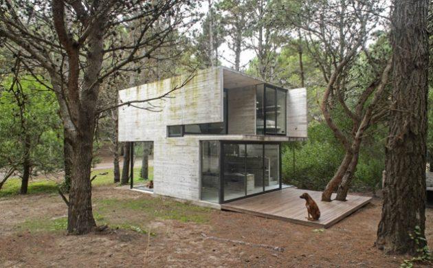 ferienhaus-bauen-beton-gestaltung-einrichtung-bauideen-betonbau-ferienwohnung-waldhuette