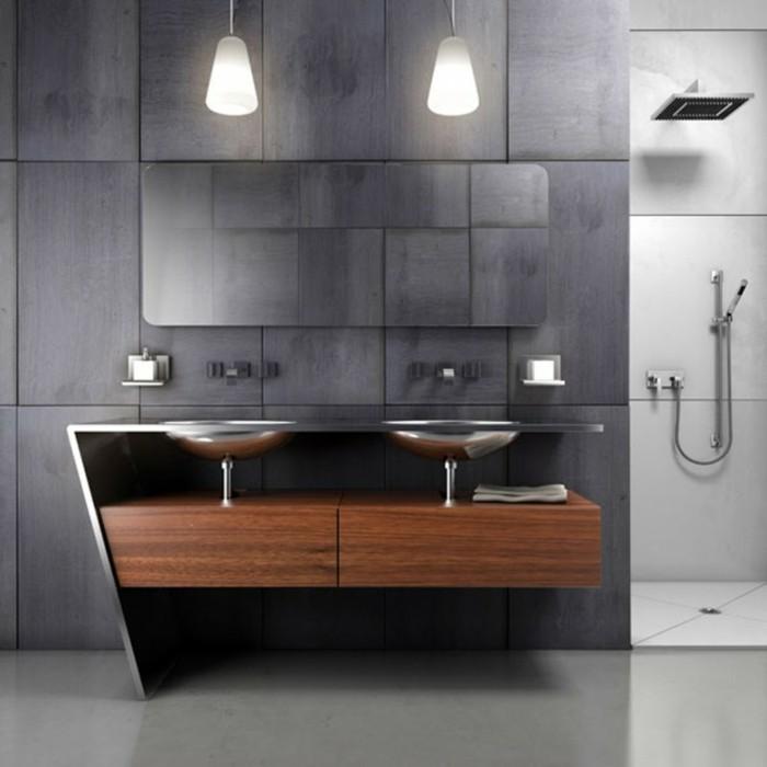 moderne badmoebel doppelwaschbecken bad unterschrank