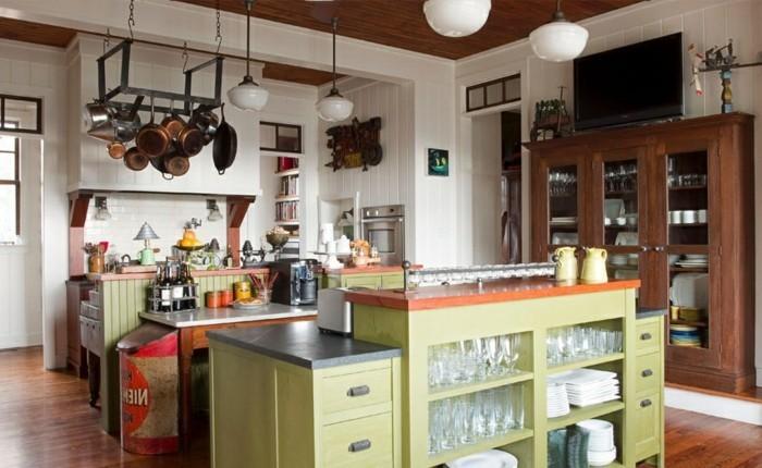 Moderne Kueche Einrichten Kuechengestalung Einrichtungsideen  Kuecheneinrichtung Gestaltungsideen